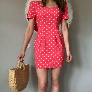 Vintage 90's Dottie mini dress